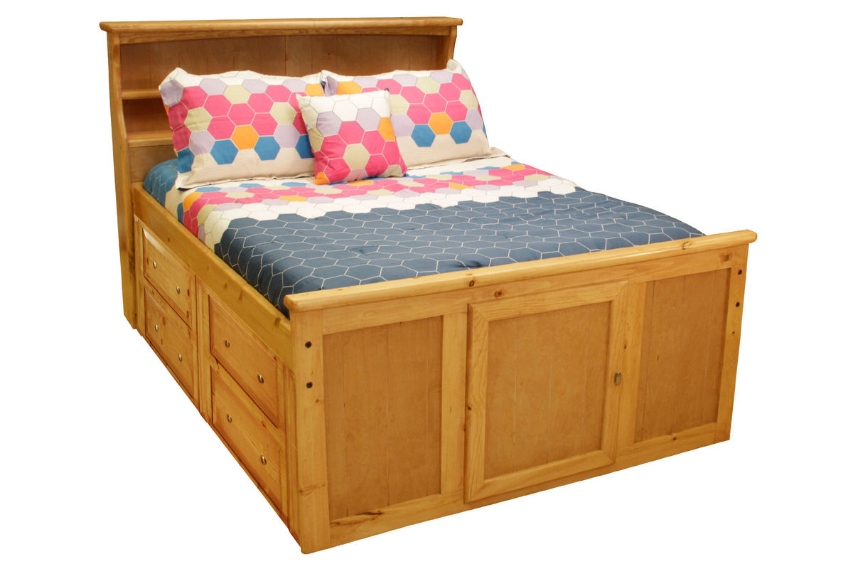 Bookcase Bed Laguna Carmel Full Bookcase Bed