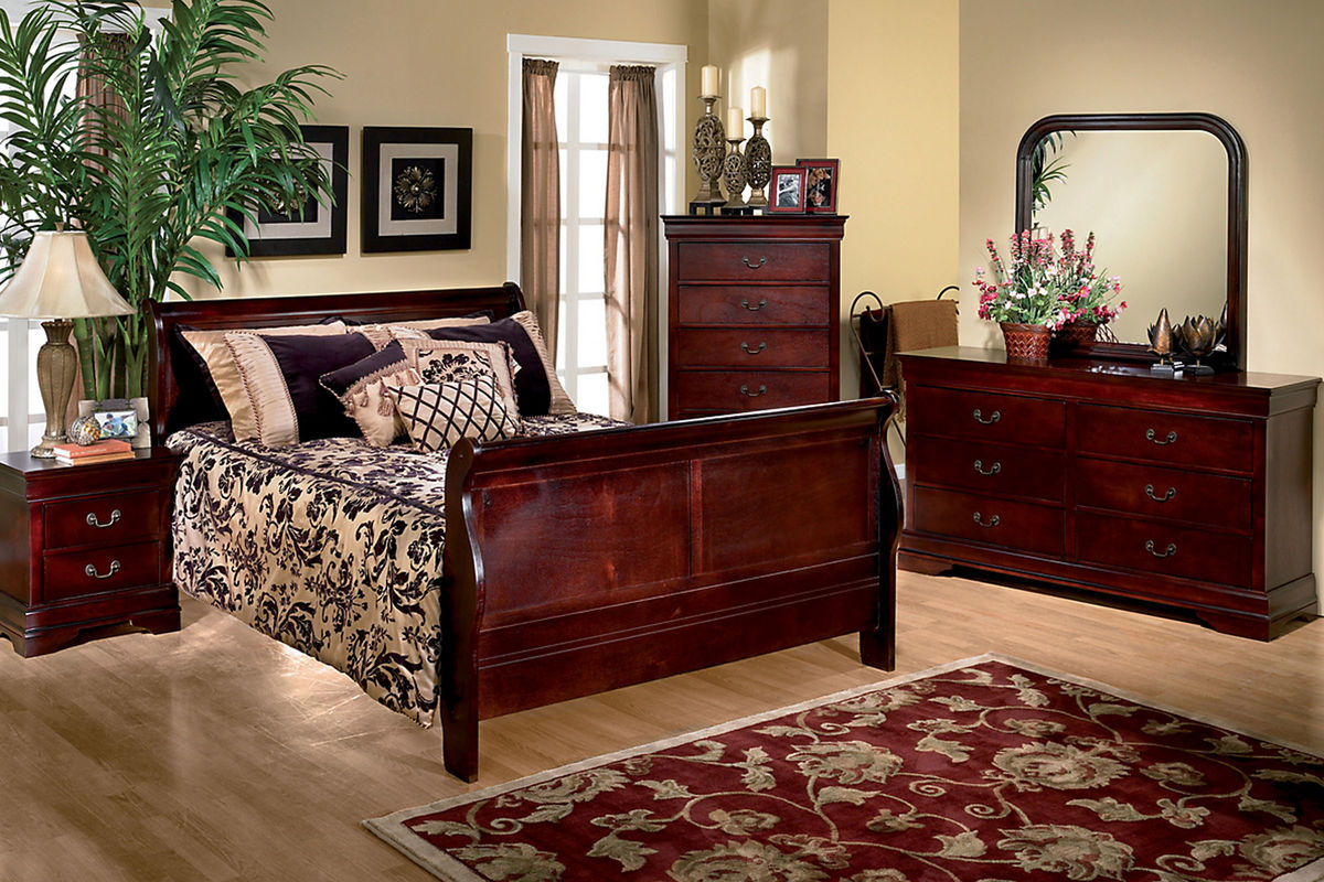 Queen Bed Set Louis 5 Piece Queen Bedroom Set At Gardner White