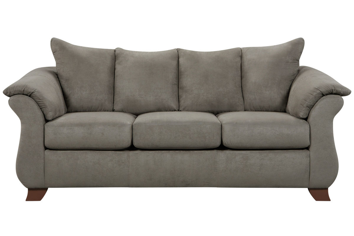 Couh Upton Microfiber Sofa At Gardner-white