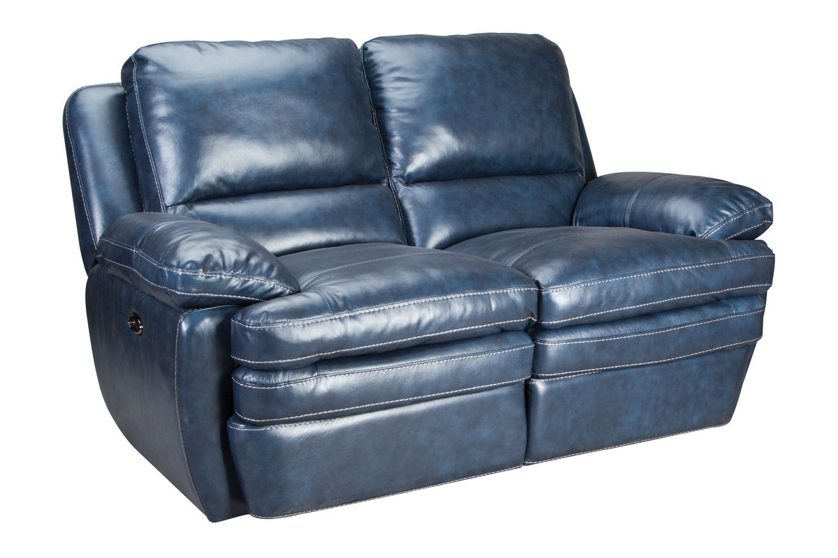 Leather Loveseat Mazarine Power Reclining Leather Sofa 43 Loveseat At
