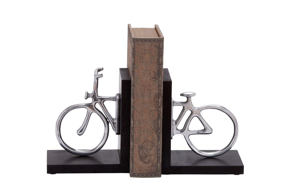Classic Bookends Classic Modern Bicycle Bookends At Gardner White