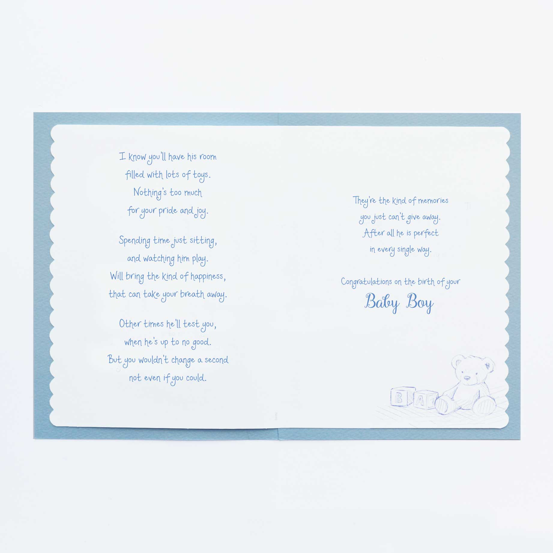 Enthralling Warmth Baby Boy Card Garlanna Greeting Cards Congratulations On Your Baby Boy Ny Congratulations On Your Baby Boy Printable Cards Words Warmth Baby Boy Card Words baby shower Congratulations On Your Baby Boy