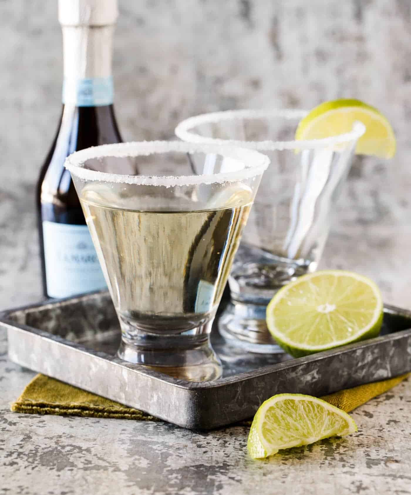 Drink Gin Gin Elderflower And Prosecco Cocktail Recipe