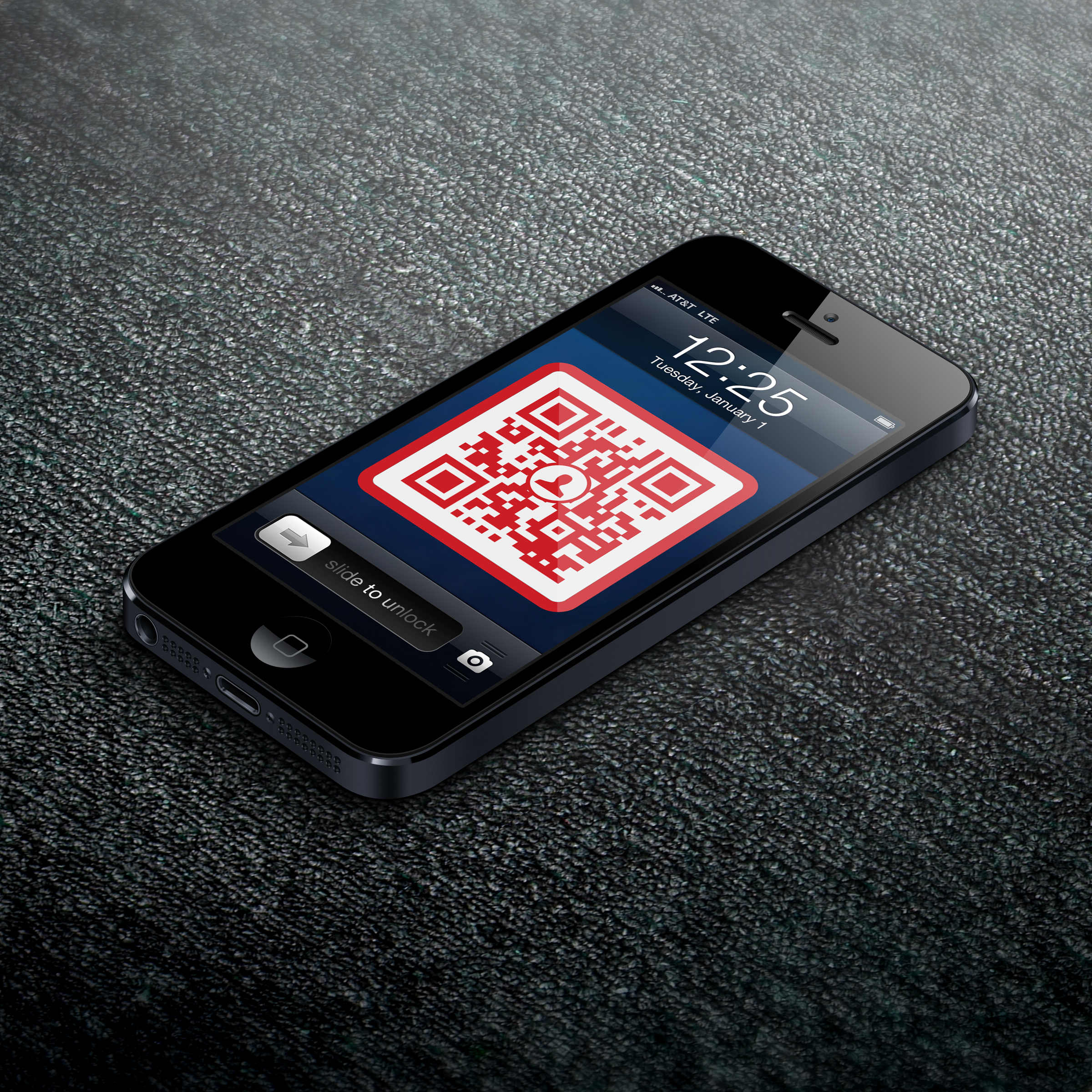 Lattenroste Fiberglas Qr Code Lock Screen Business Card By Scan Garrett Gee