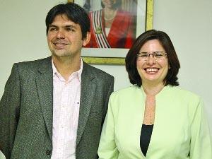 Os ex-secretários Victor Mendes e Genilde Campagnaro: danos ao erário