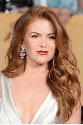 SAG AWARDS Isla Fisher red carpet
