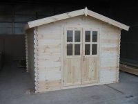 Holz Gartenhaus gnstig 3m x 4m - Sams Gartenhaus Shop