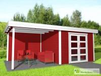 Gartenhaus Mit Garage. Garage Gartenhaus Moderne Garage U ...