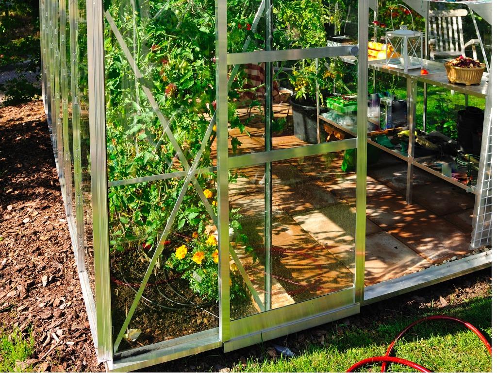 Gewachshaus Aufbauen Aufbau Gewachshaus Teil 1 Schmiddies Gartenblog