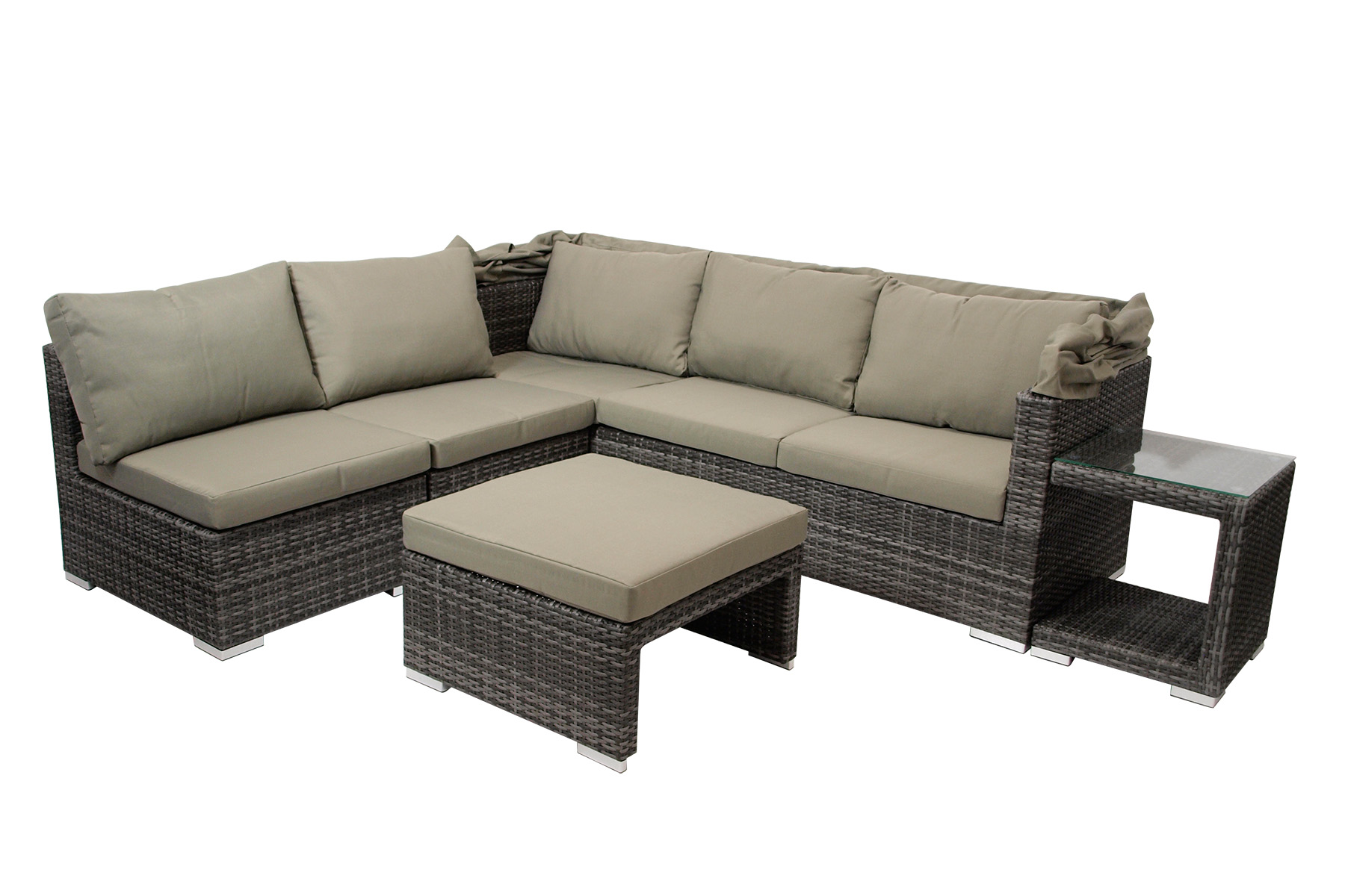 Gartenmöbel Lounge Set Ebay Loungeset Funktions Lounge Set Sofaset Manacor 16 Teilig