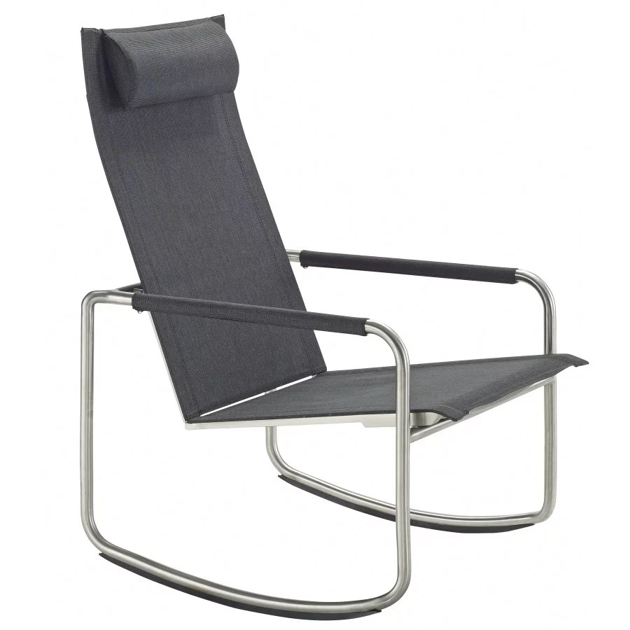 Outdoor Schaukelstuhl Solpuri Jardin Rocking Deck Chair