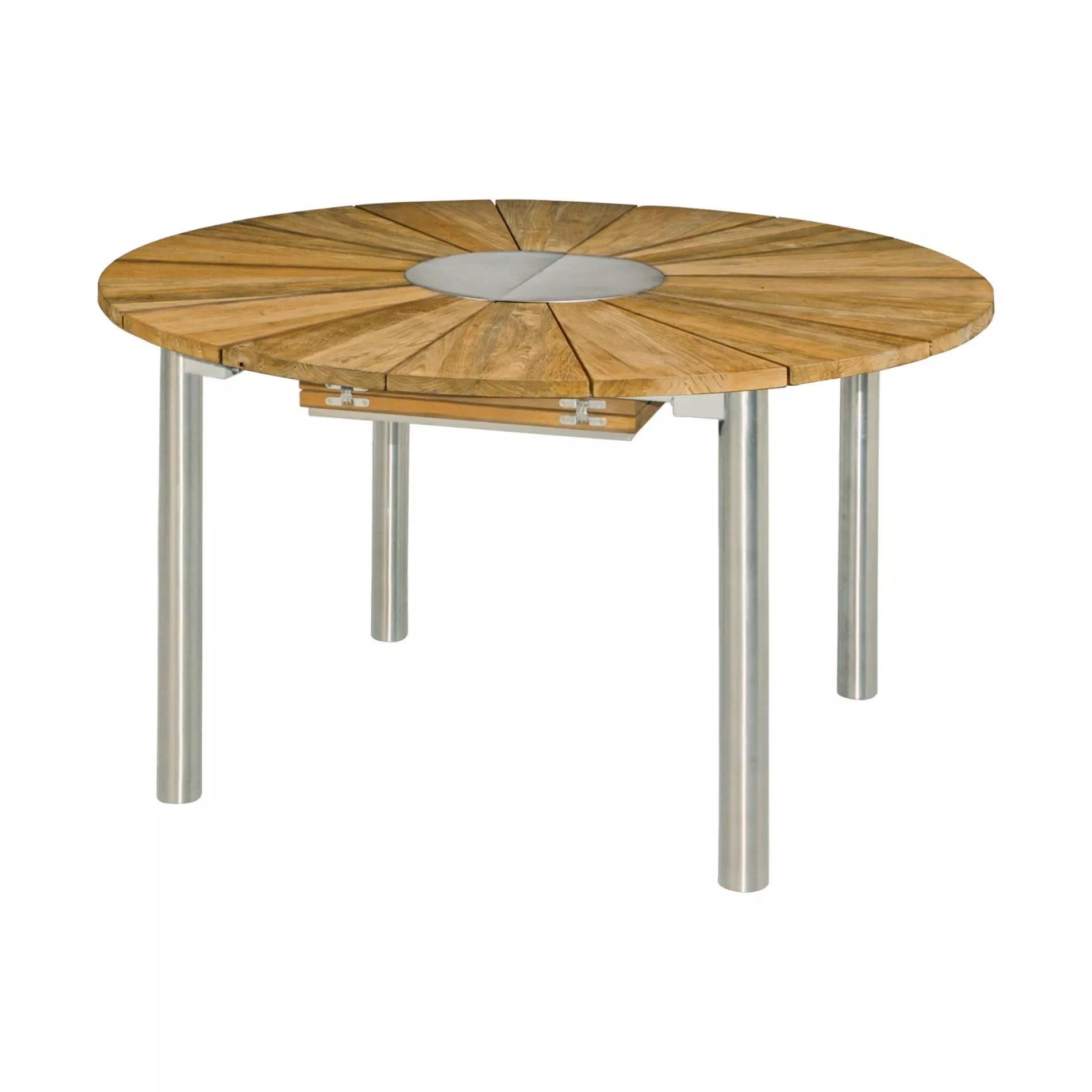 Gartentisch Edelstahl Teak Teak Gartentisch Eco Oval Massiv