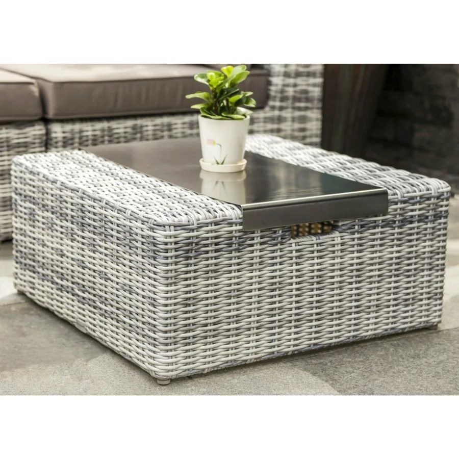 Couchtisch Geflecht Home Islands Kyoko Loungegruppe