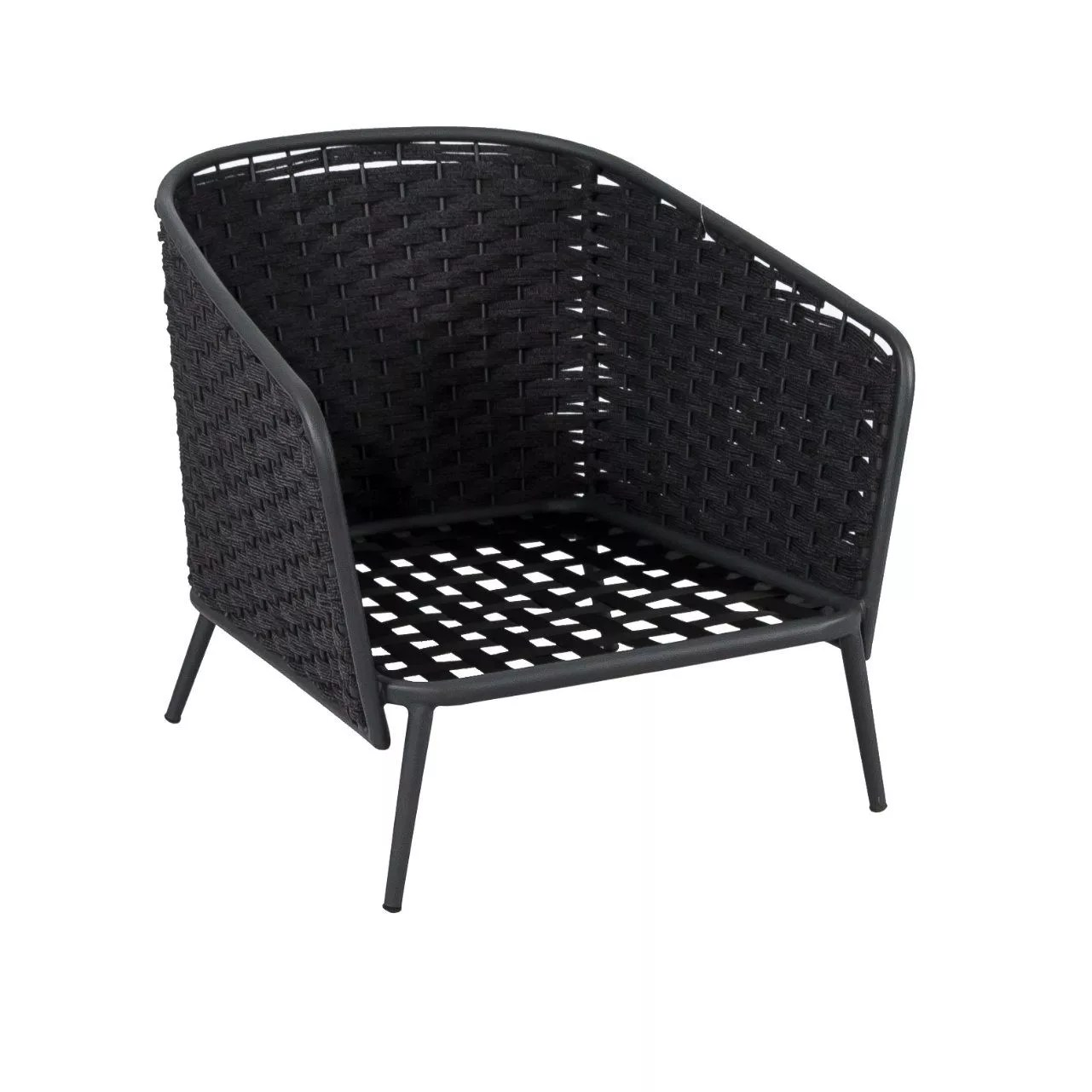 Sessel Roy Lounge Sessel Outdoor Schwarz
