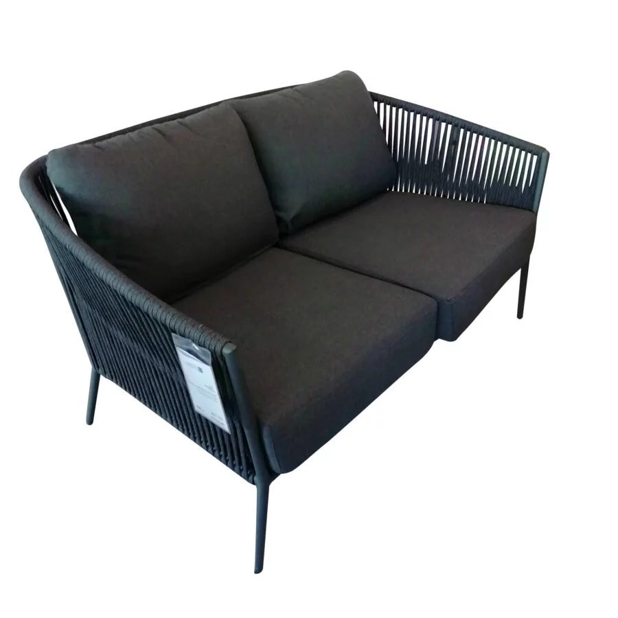 Lounge Sofa 2 Sitzer Outdoor Jati&kebon \