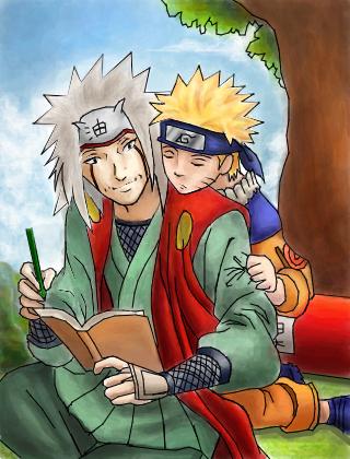 Anime Wallpaper Naruto Shippuden Jiraya E Naruto Parabens Uhuuu Desenho De Razu Gartic