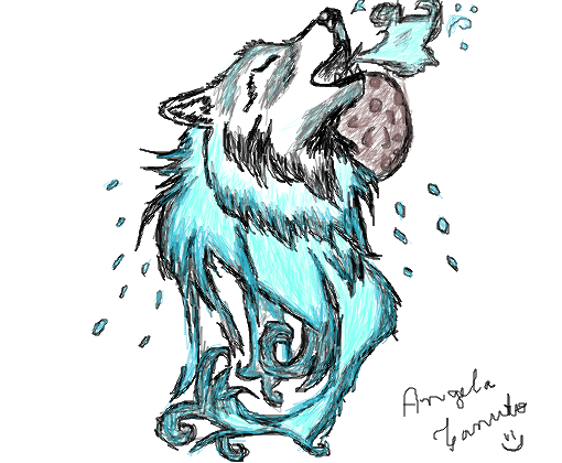 Cute Cartoon Animal Wallpaper Lobo Desenho De Secondstokill Gartic