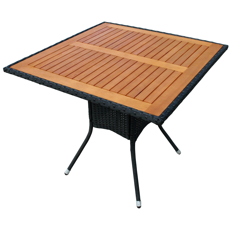 Quadratischer Gartentisch Gartentisch Quadratisch Indoba Indoba