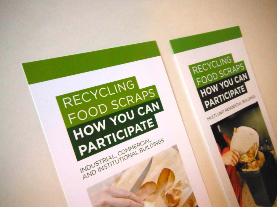 Food Scraps – Brochures and Rack Cards