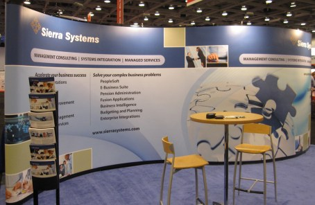 Trade Show Booth | Professional Consulting Area