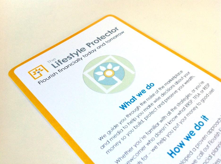 Lifestyle Protector | Philosophy Rack Card