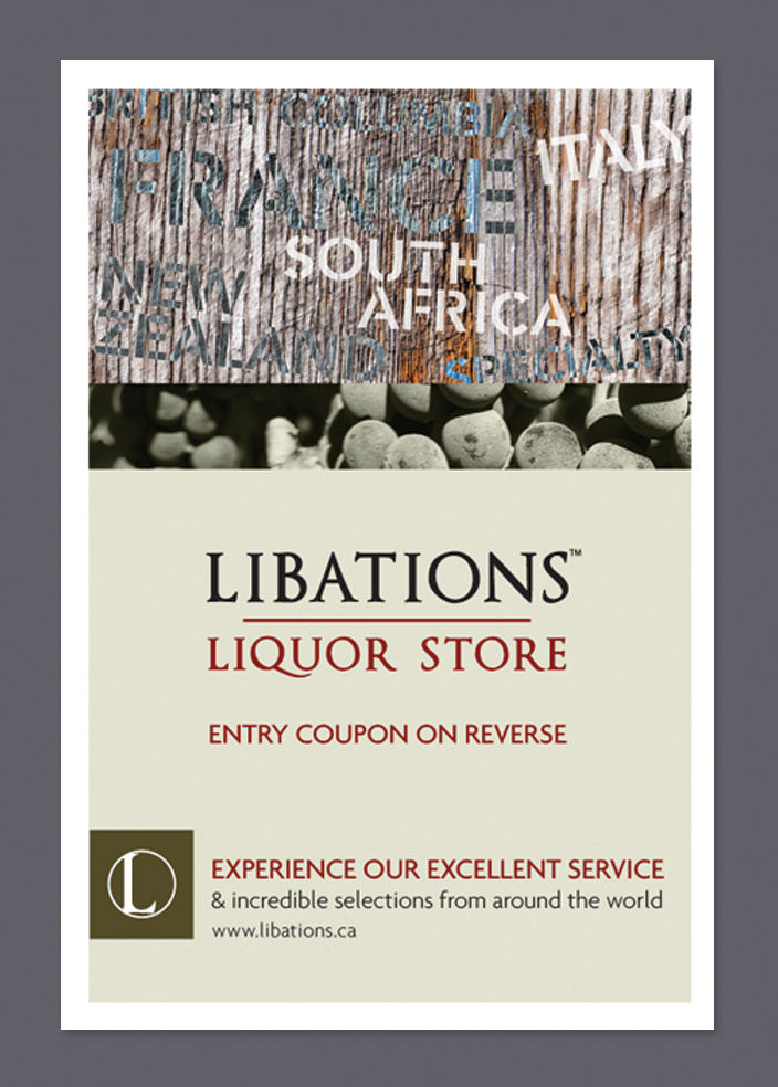 Libations Liquor Stores | Promotional Mail-outs