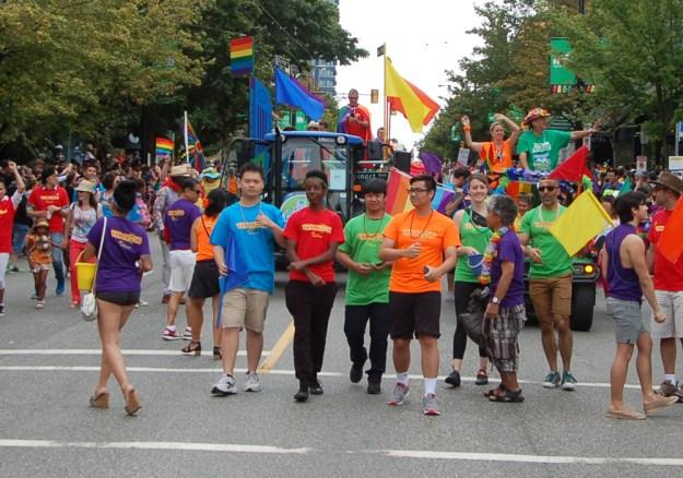 Van Proud T-Shirts and Pride Float