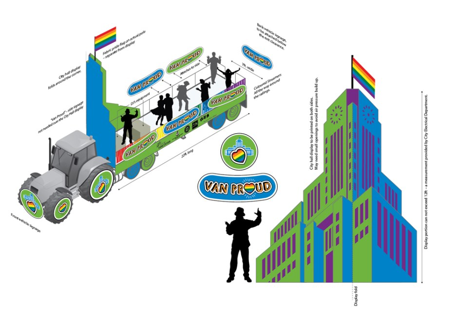 City of Vancouver| Van Proud Pride Parade Float