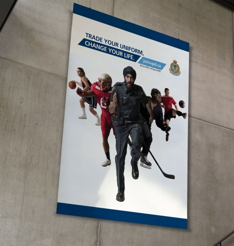 Vancouver Police Department | Recruitment Poster Campaign
