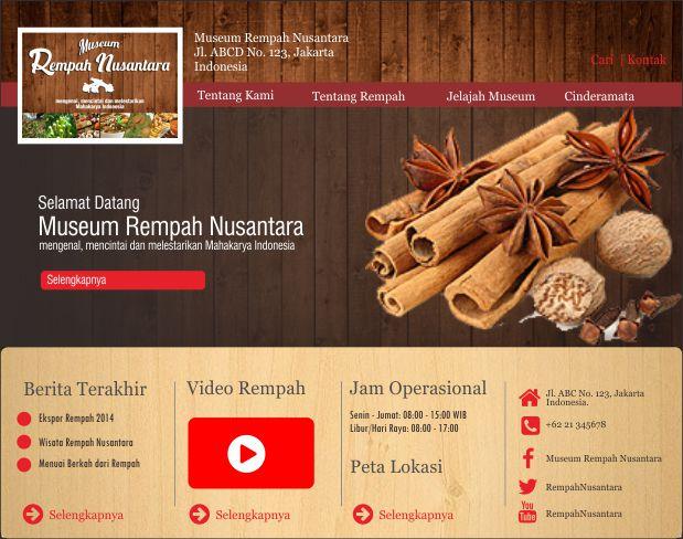 website Museum Rempah Nusantara