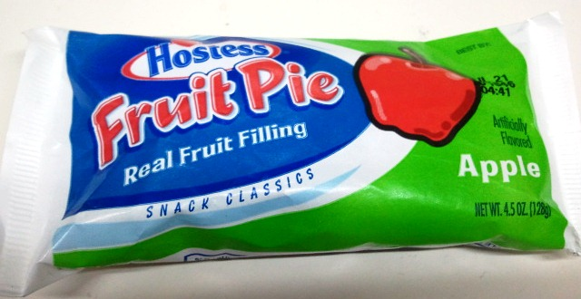 AMERICAWEEK Hostess Apple Fruit Pie Gas Station Gastronomy