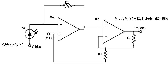 photodiode detector circuit