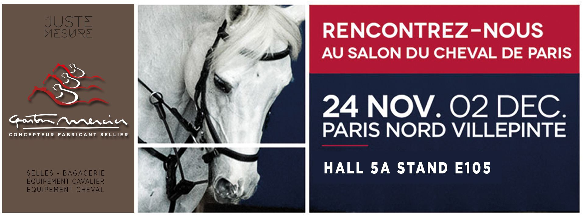 Salon Du Cheval A Paris Gaston Mercier Au Salon Du Cheval De Paris Sellerie Gaston Mercier