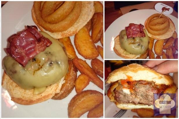 Hamburguesa Soho en New York Burger