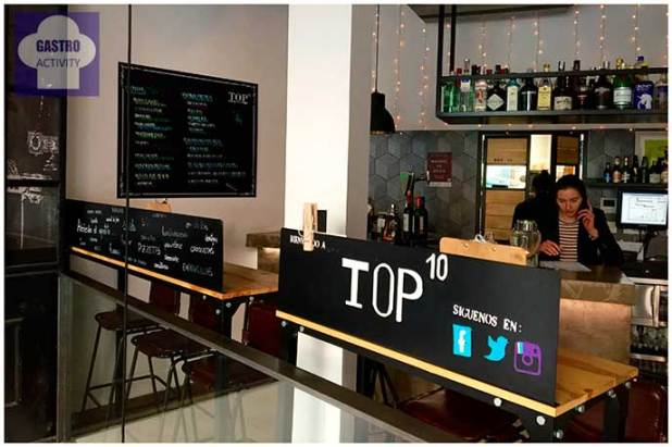 Planta de arriba Top Ten Restaurante Madrid