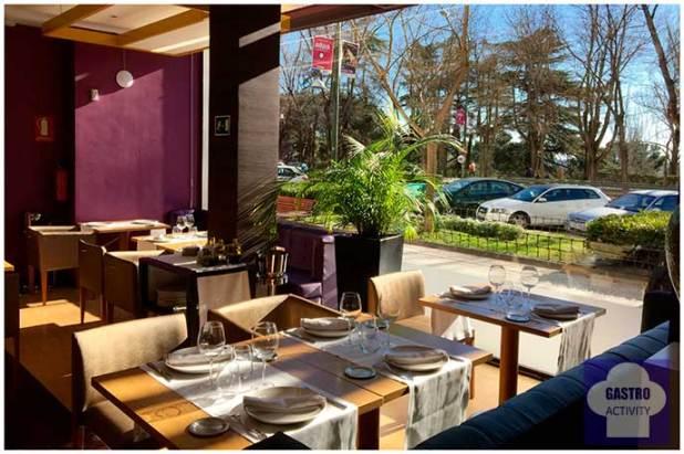 Vistas al parque del Oeste Restaurante Seven & Six