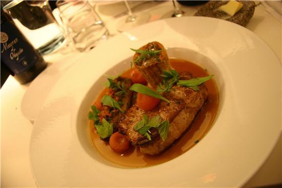 RestaurantFerdiand - hovedret - svinekotelet