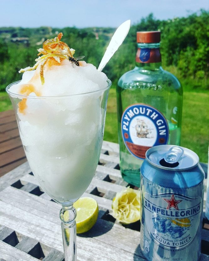 Sommerens mest geniale dessert: Gin&Tonic-is