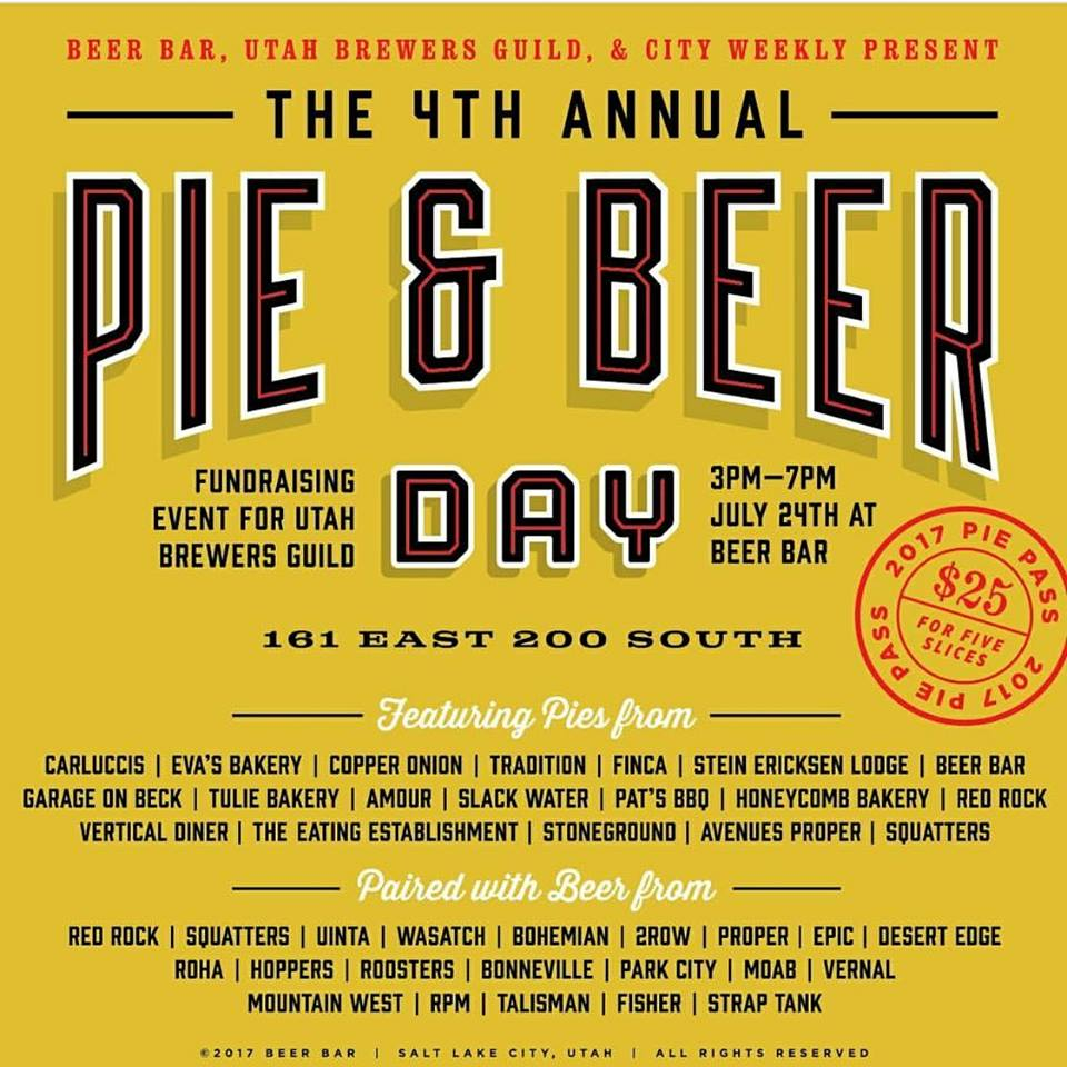 Garage On Beck Pie And Beer Day 2017