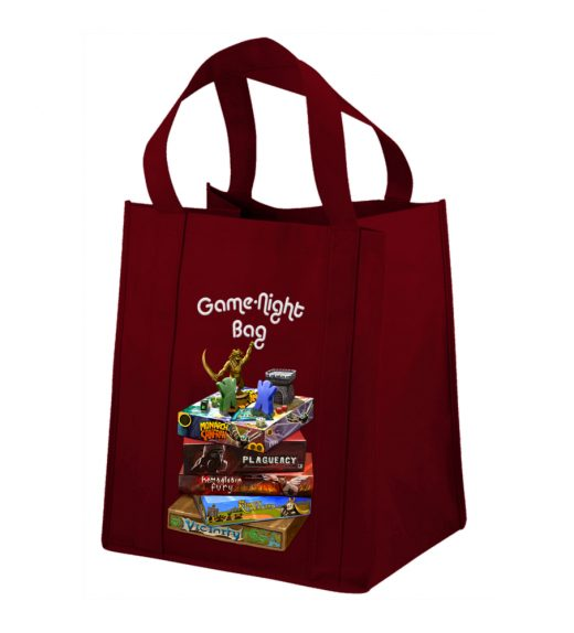 Night Bag Game Night Bag: The Homage – Burgandy – Gate Keeper Games