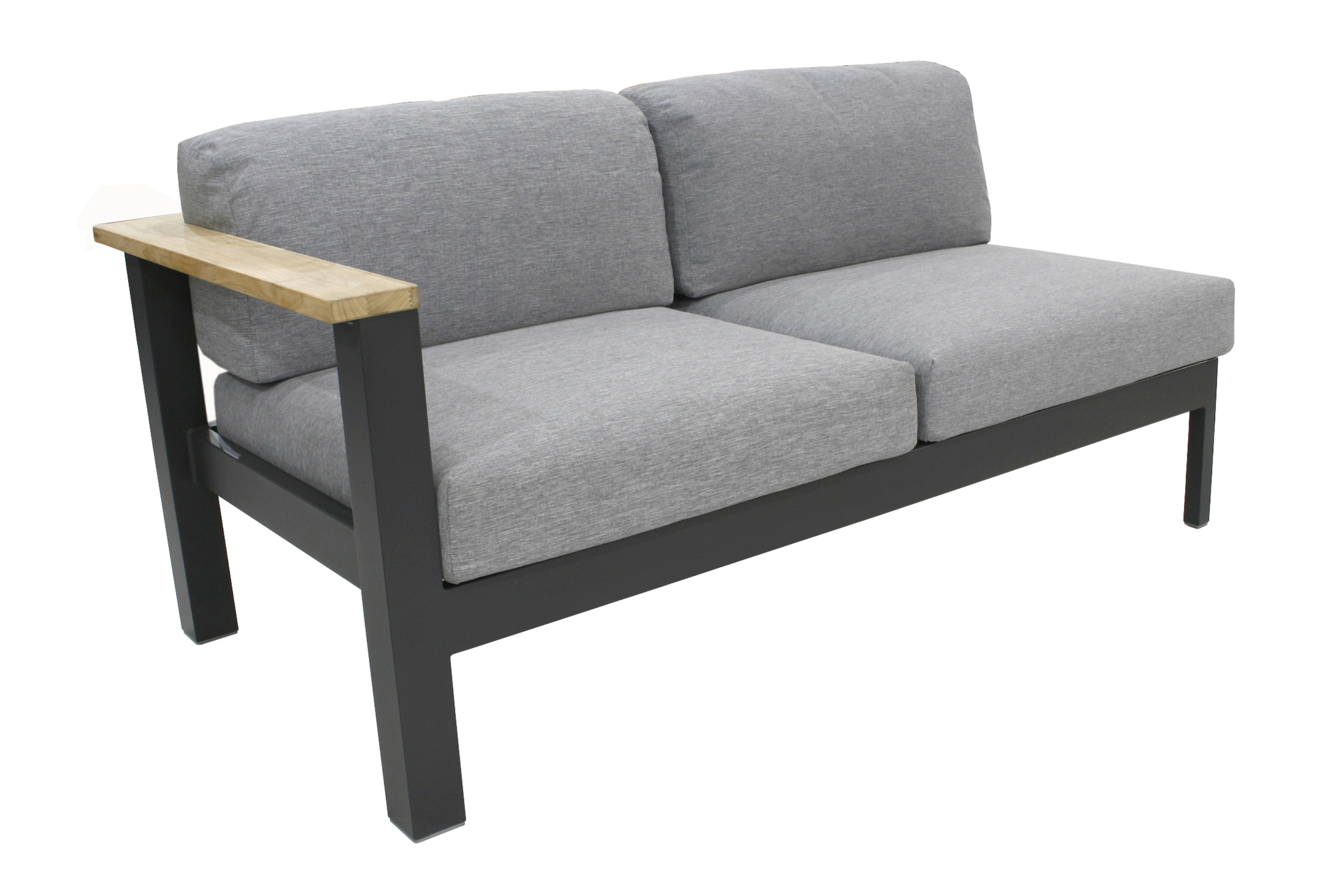 Lounge Sofa 2 Sitzer Outdoor Minio 2-sitzer Lounge Sofa Armlehne Links – Gate Living