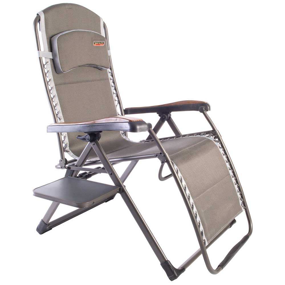 Quest Naples Pro Relax Xl Chair With Side Table F1323