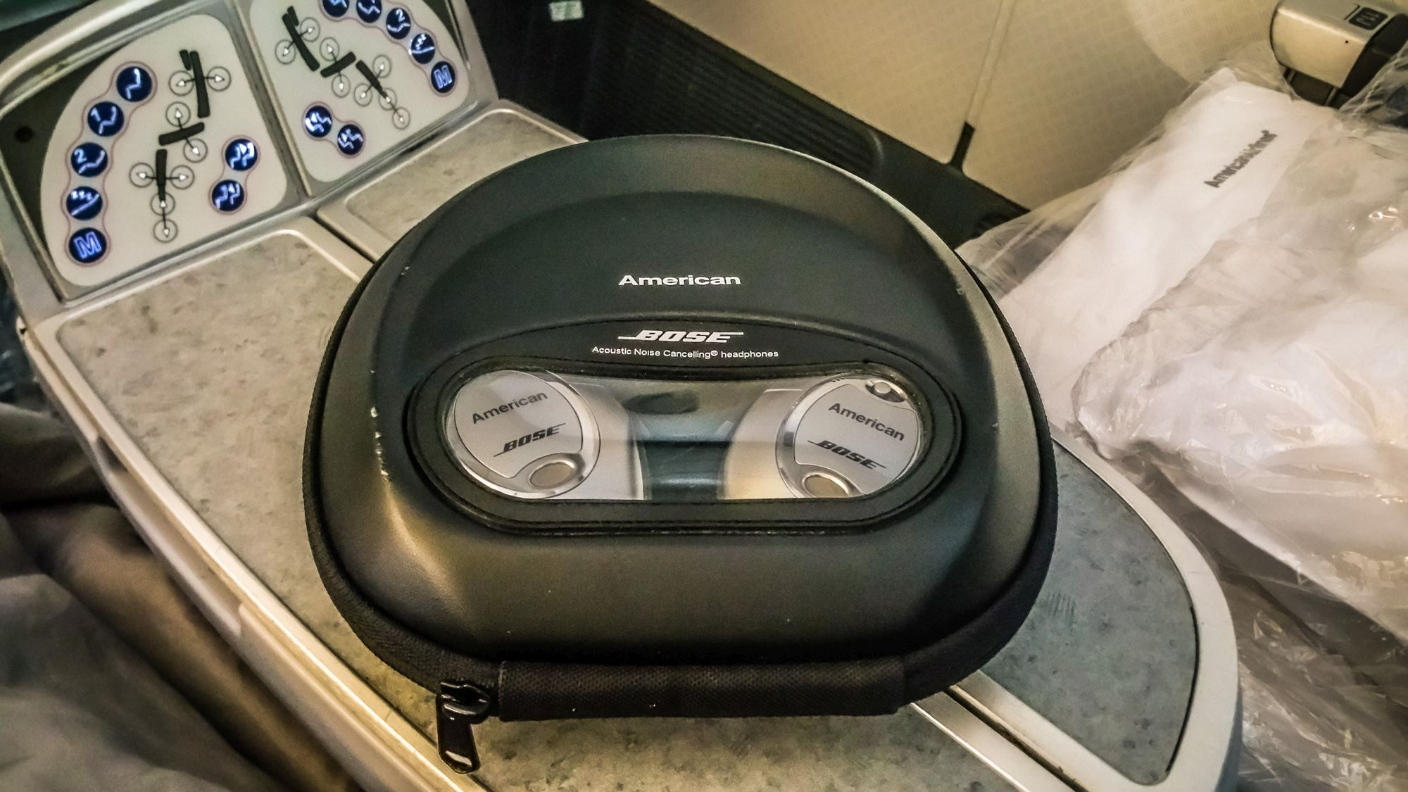 Bose Noise Cancelling Flight Review American Airlines Business Class Boeing