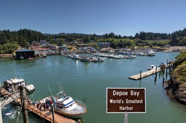 Depoe Bay Harbor