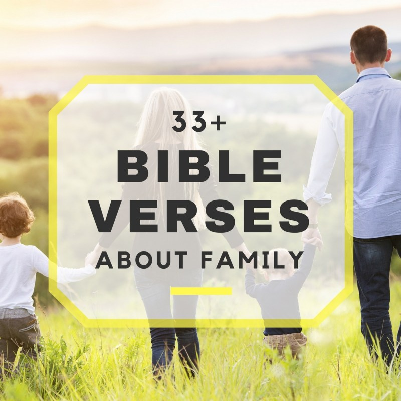 Large Of Family Bible Verses