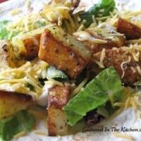 Crunchy Potato Soft Taco - Knock Off Taco Bell Potato Taco