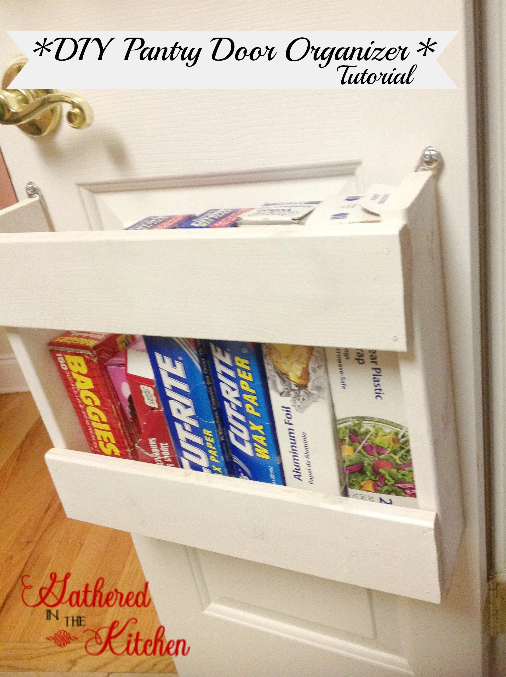 Lowes Pantry Door Pantry Organizer - Diy Foil & More Organizer