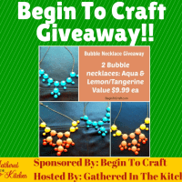 Begin To Craft Giveaway!!
