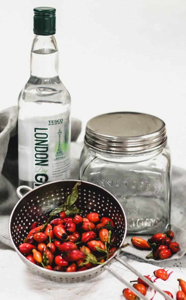 Rosehip Gin