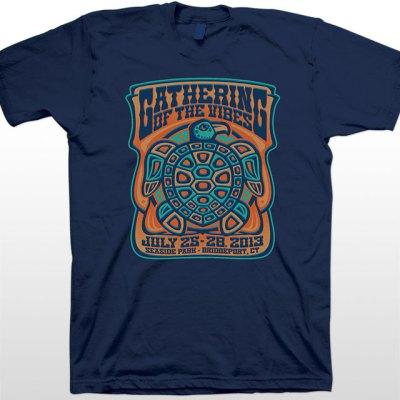 2013 Men's Totem Blue T-Shirt